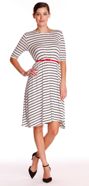 Golden Tote Complete August 2014 Spoilers! Striped Dress