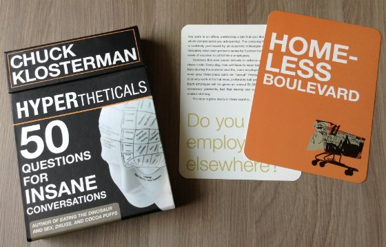 Andrew Zimmern Quarterly Subscription Box Review #ZIM03 Cards