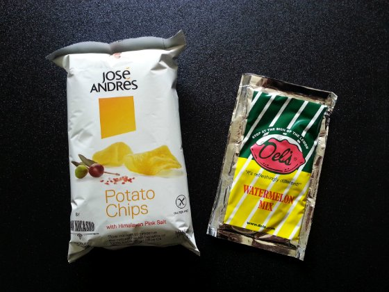 Cloud 9 Subscription Box Review - July 2014 Chips