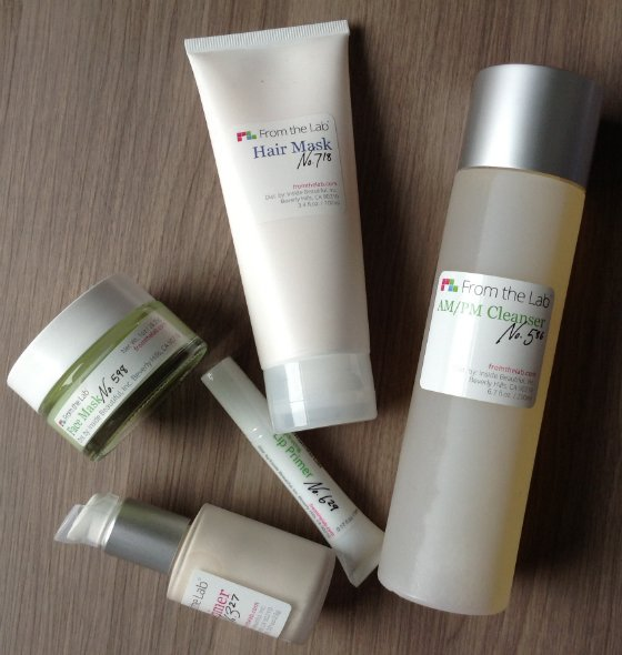 From The Lab Beauty Subscription Box Review – July 2014 Items