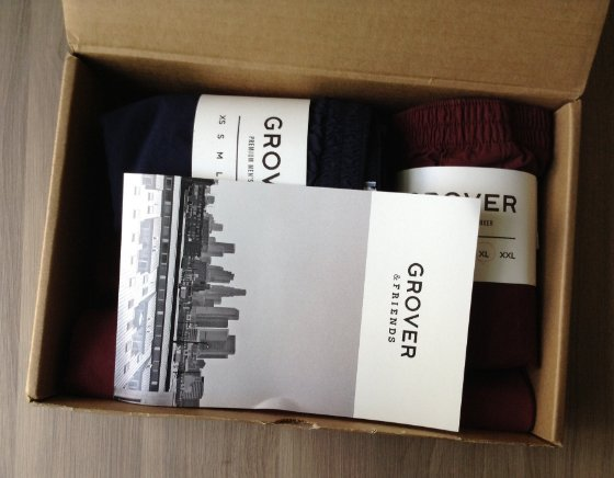 Grover & Friends Men's Clothing Subscription Review – July 2014 Items