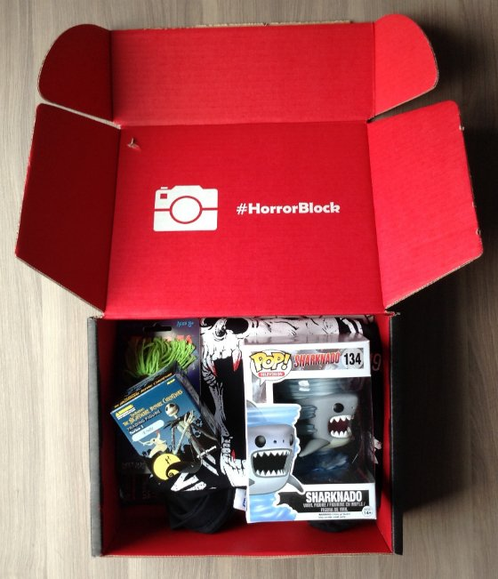Horror Block Subscription Box Review - July