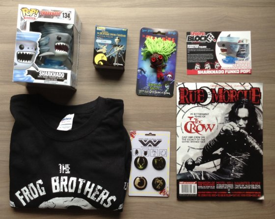 Horror Block Subscription Box Review - July 2014 Items