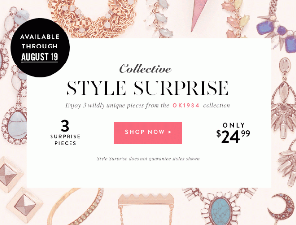 JewelMint Collective Style Surprise Mystery Box