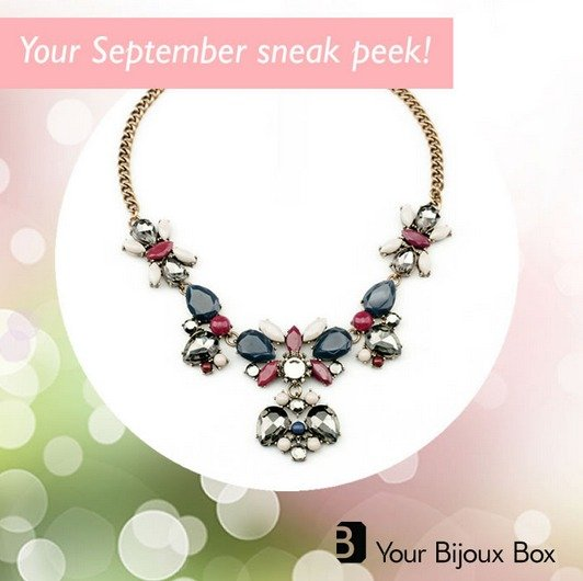Your Bijoux Box September 2014 Sneak Peek