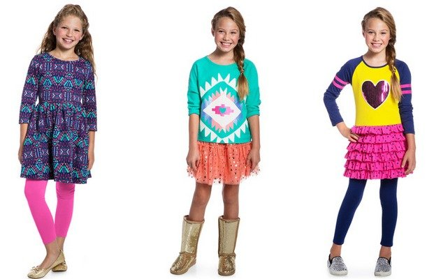 New FabKids September Collections Plus 50% Off Coupon! Skirt Outfits