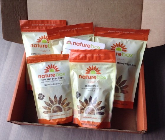 Nature Box Subscription Review & 50% Off Coupon Code! Snacks
