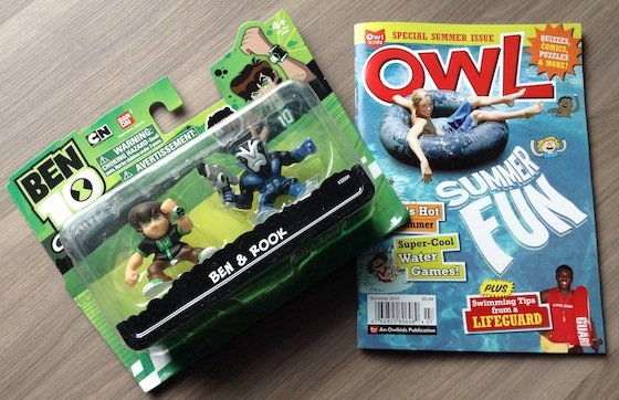 Nerd Block Junior Boys Subscription Box Review – August 2014 Owl