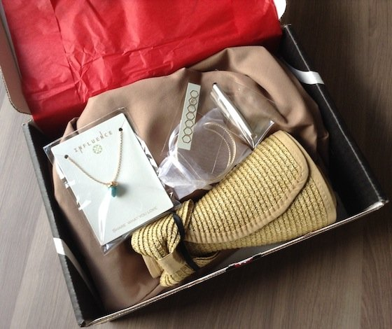 Social Bliss The Style Box Subscription Review – August 2014 First Look