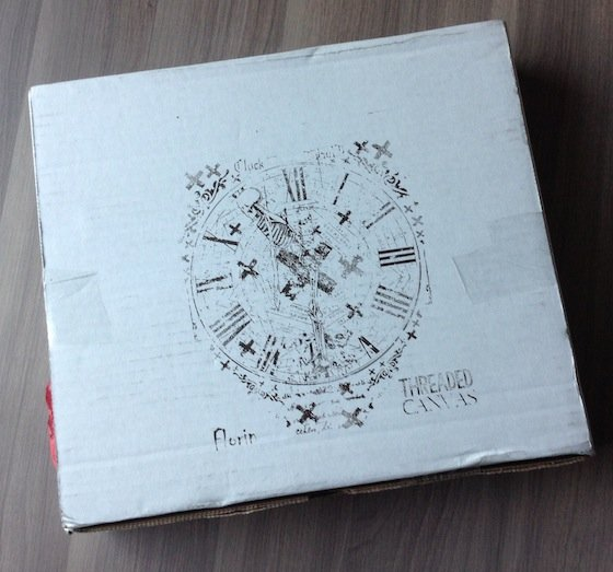 Threaded Canvas Subscription Box Review - August 2014