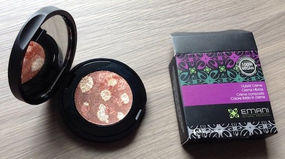 Vegan Cuts Beauty Box Subscription Review - August 2014 Bronzer