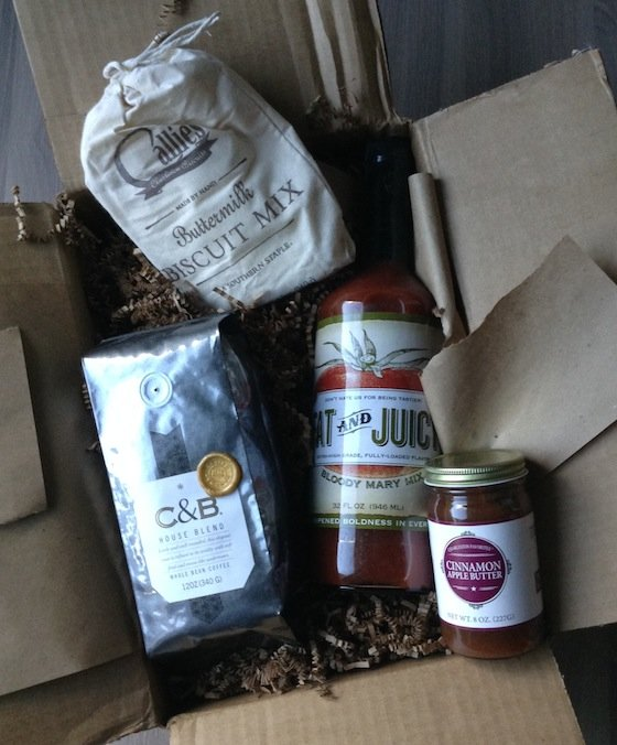 Batch Charleston Subscription Box Review - Sept 2014 Items