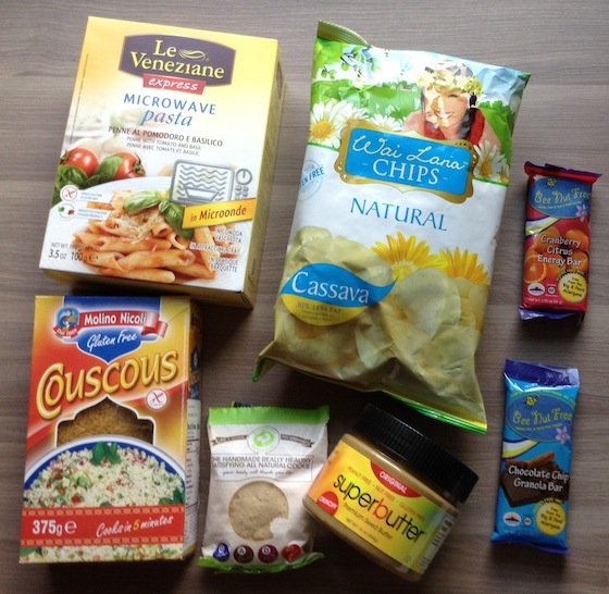 Cuisine Cube Gluten Free Subscription Box Review Items