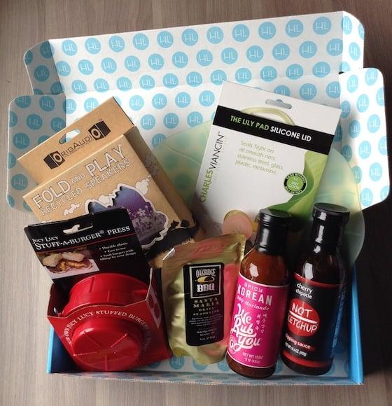 Hamptons Lane Subscription Box Review & Coupon - Sept 2014 Items