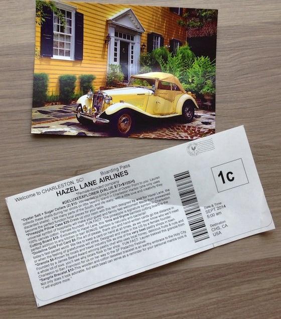Hazel Lane Deluxe City Subscription Box Review – Sept 2014 Info