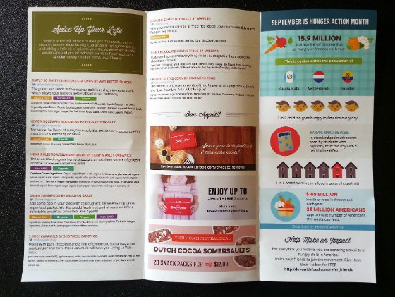 Love With Food Review & Free Box Coupon – Sept 2014 Info