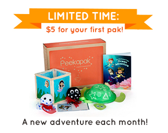 Peekapak $5 Box Sale!