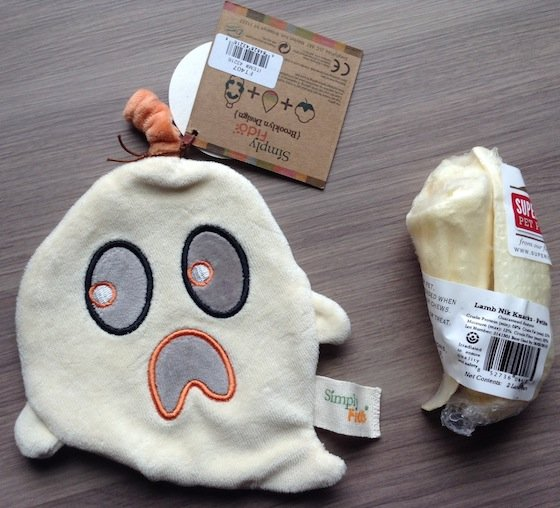 BarkBox Subscription Box Review & Coupon – Oct 2014 Ghost