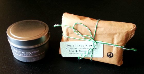 Dottie Box Subscription Box Review – October 2014 Candle