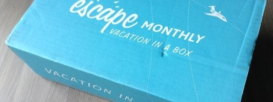 Escape Monthly Subscription Box Review – October 2014