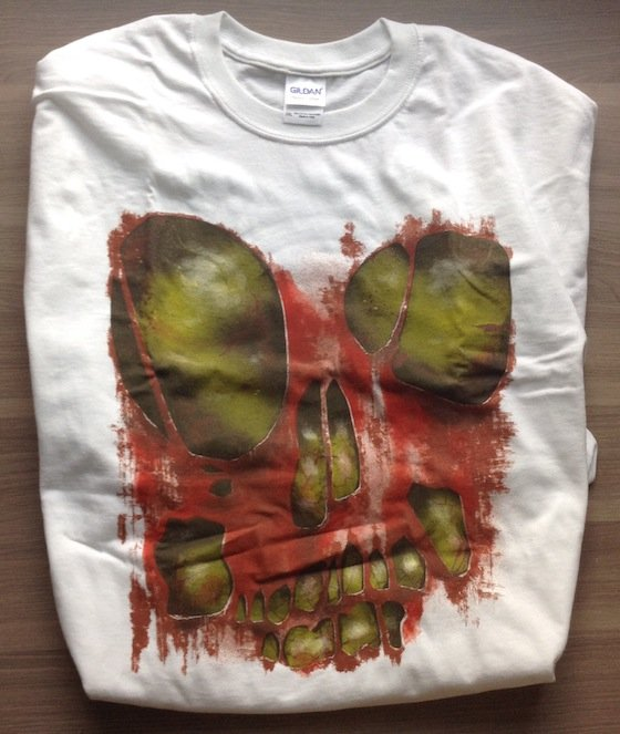 Horror Block Subscription Box Review – September 2014 Shirt