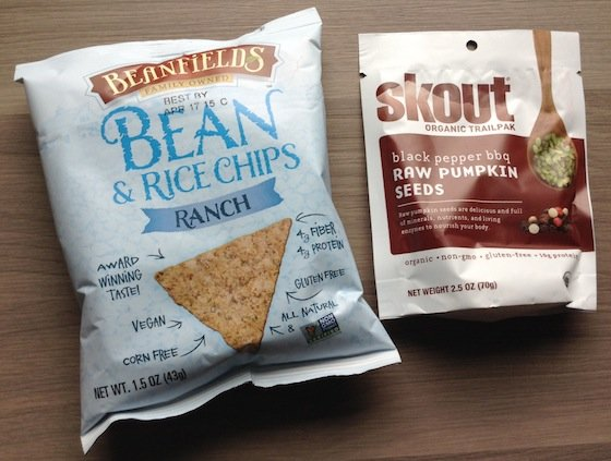 Love with Food Gluten Free Box Review - October 2014 Bean Chips
