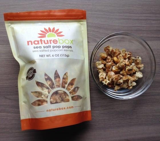 Nature Box Subscription Review & 50% Off Coupon - Oct 2014 Pop Pop