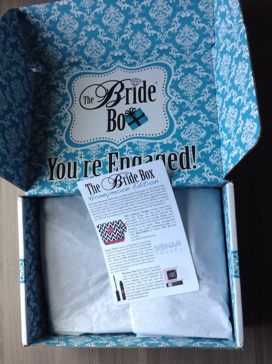 The Bride Box Subscription Review – October 2014 FIrst Look