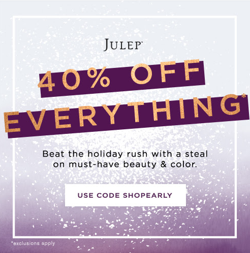 Julep Friends and Family Sale