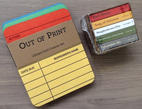 Book Riot Best of 2014 Box Review Coasters