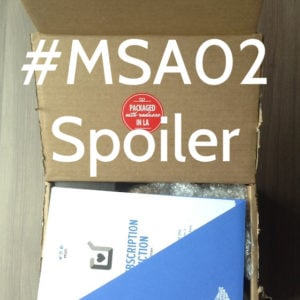 #MSA02 Spoiler and Shipping Update