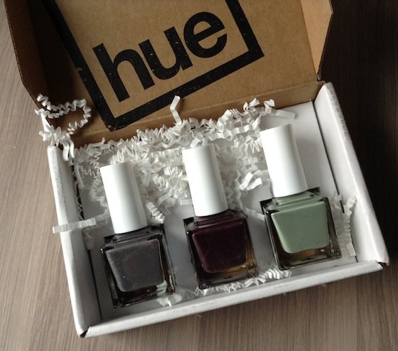 Square Hue Nail Polish Subscription Box Review – Nov 2014 Colors