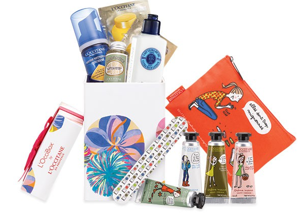 L'OcciBox Beauty Sample Box by L'Occitane Available Now