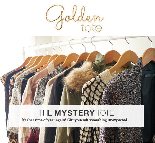 Upcoming Golden Tote Mystery Tote Sale Details