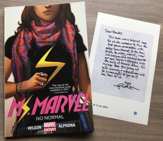 Book Riot Quarterly Subscription Box Review #BKR05 Ms Marvel