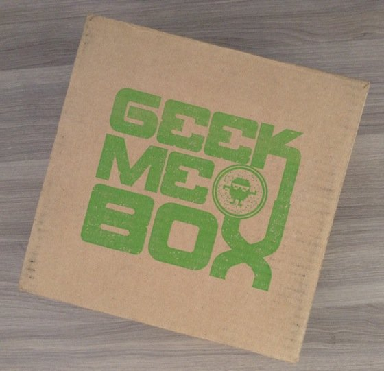 Geek Me Box Subscription Review – November 2014 Box