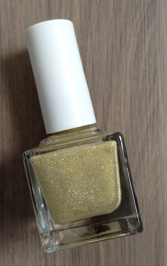 Square Hue Nail Polish Subscription Box Review – Dec 2014 Gold