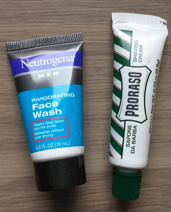 Target Beauty Box for Him Review - December 2014 Facewash