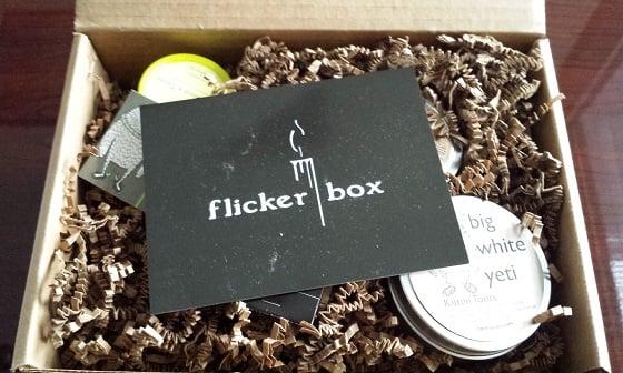 Flicker Box Subscription Box Review - January 2015 Inside