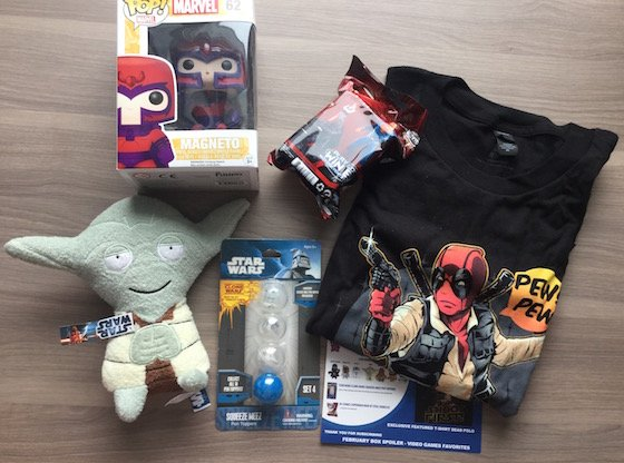 Geek Me Box Subscription Review – January 2015 Items