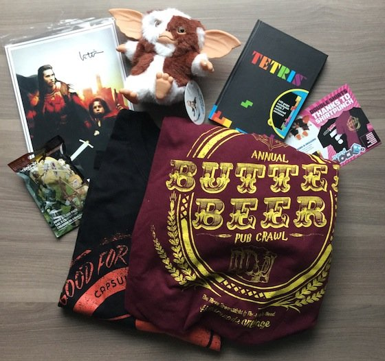 Nerd Block Subscription Box Review – December 2014 Items