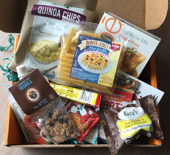 Send Me Gluten Free Subscription Box Review – December 2014 Items