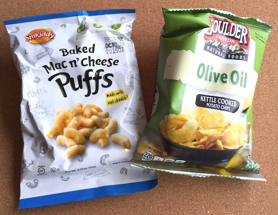 Love with Food Subscription Box Review & Coupon – Feb 2015 Chips