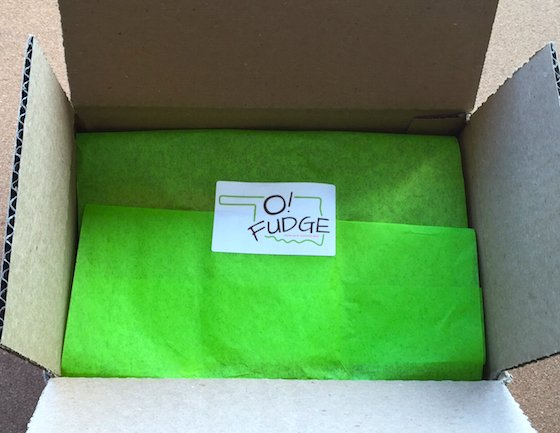 O! Fudge Box Subscription Box Review - February 2015 Box