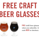 New Bespoke Post Coupon – Free Beer Glasses w/ Subscription!