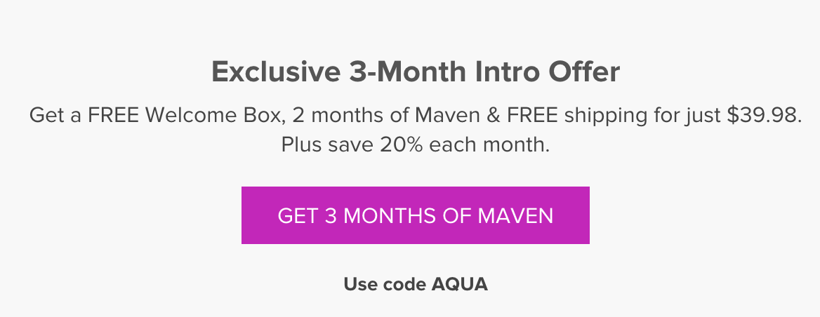 3-months of Julep Maven for the price of 2