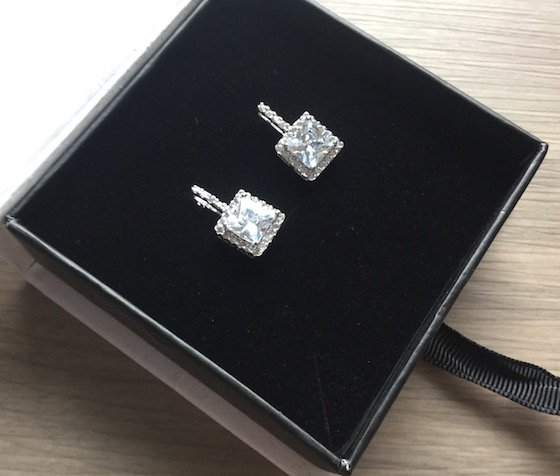 Cate & Chloe Subscription Box Review – February 2015 Earrings