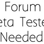 MSA Forum Beta Testers Needed!