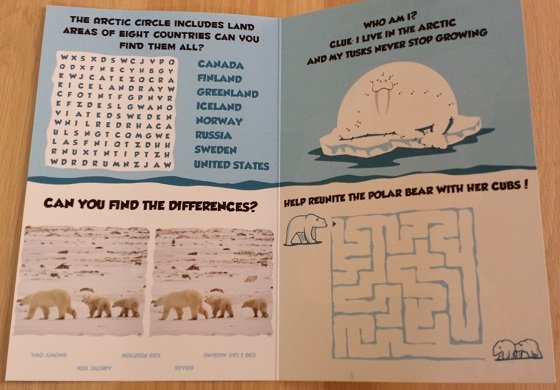Junior Explorers Subscription Box Review - February 2015 Booklet