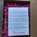 KloverBox Subscription Box Review & Coupon – February 2015 Box